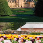 Biltmore House located in Ashville N.C. The Vanderbuilt home open for visitors year round. Spring events at Biltmore #biltmore