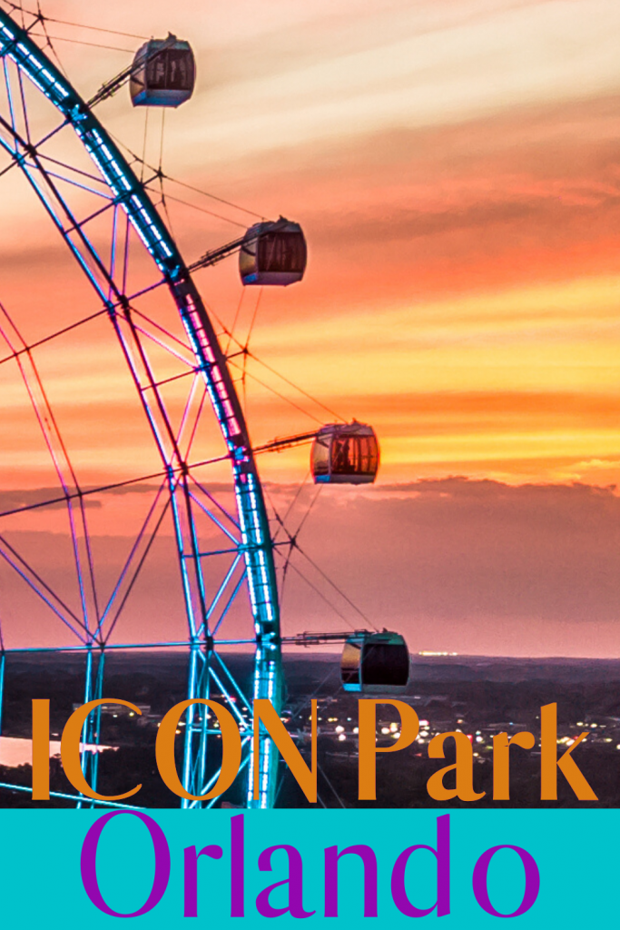 ICON Park is a 20-acre, walkable entertainment destination in the heart of Orlando, Fla. Ride the iconic wheel with breathtaking views. #orlando #visitorlando #Floridatravel #explorethesouth