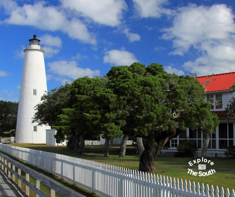 Ocracoke Light Station. Ocracoke, North Carolina