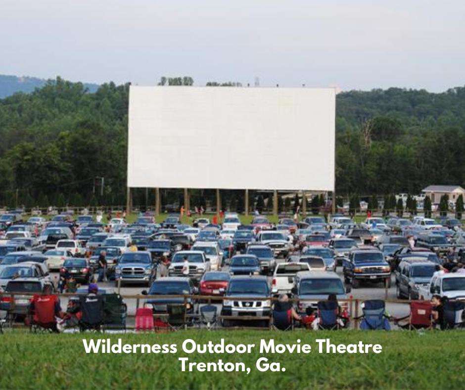 Wilderness Outdoor Movie Theatre Trenton, Ga.