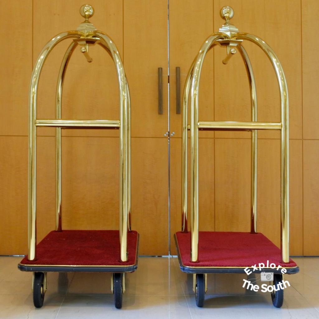 Hotel luggage carts