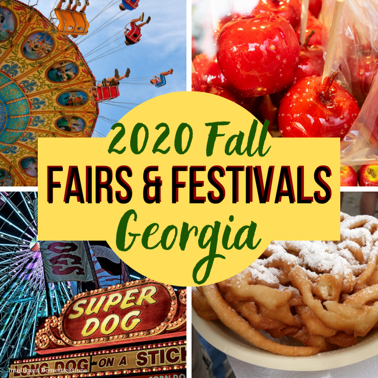 Fall Festivals Ad for Georgia