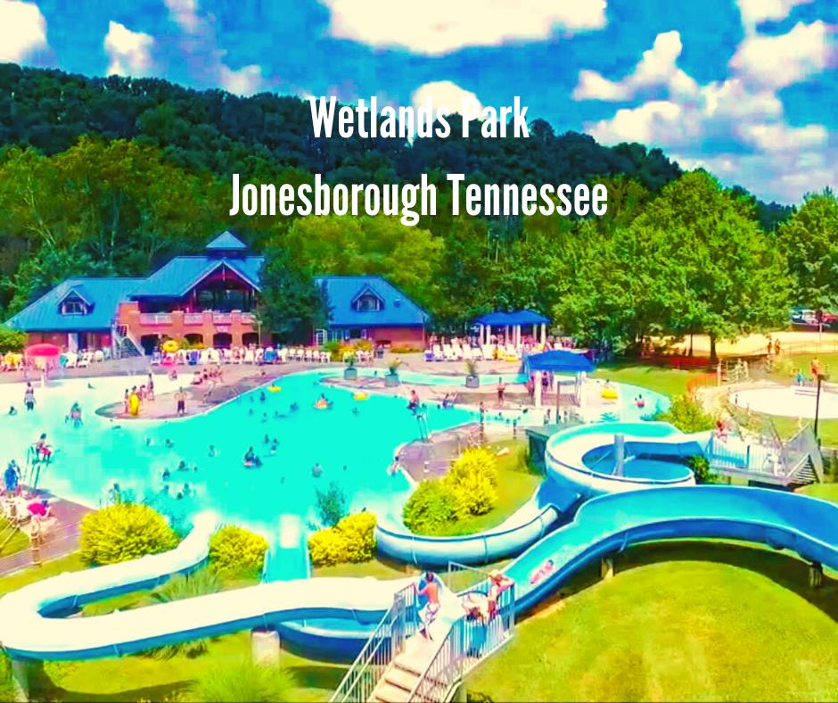 a water park in Jonesborough Tennessee
